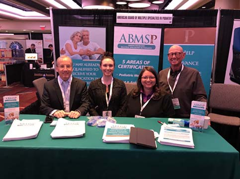 New York ABMSP Professional Booth